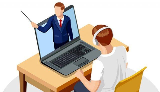 """Opinión sobre las """"clases virtuales""""."""